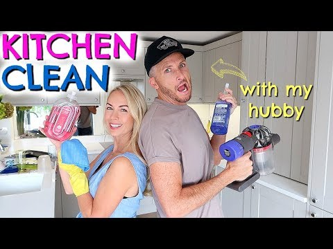 kitchen-deep-clean-organise-with-us-|-cleaning-with-my-husband-|-emily-norris