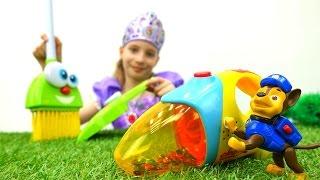 Игры для девочек - Принцесса София и Щенячий Патруль