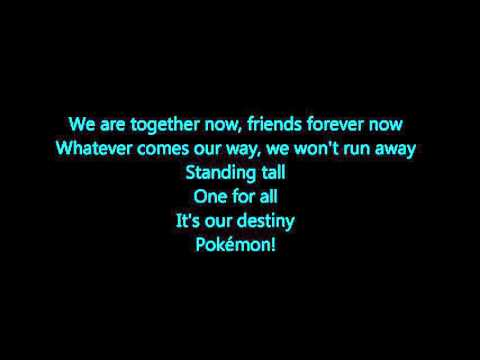 Pokemon - Rival Destinies Lyrics (Full Song)