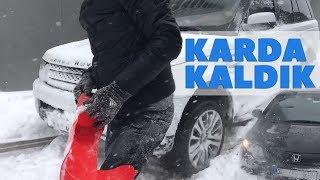 Range Rover ile İstanbul'da Kar Macerası