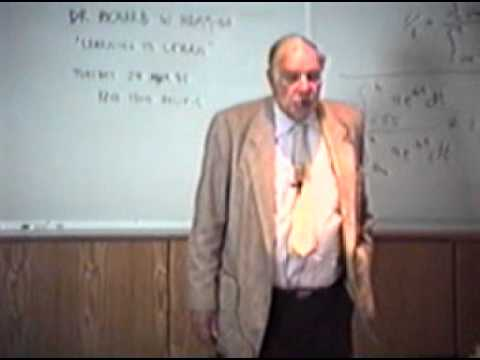 Hamming, Intro to The Art of Doing Science and Engineering: Learning to Learn (March 28, 1995)