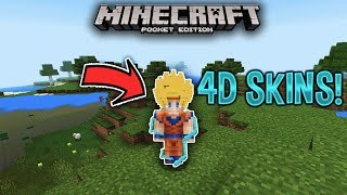 4D SKINS in Minecraft Pocket Edition! [FREE]