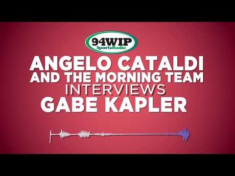 Gabe Kapler Stays Positive Talks With Angelo Cataldi