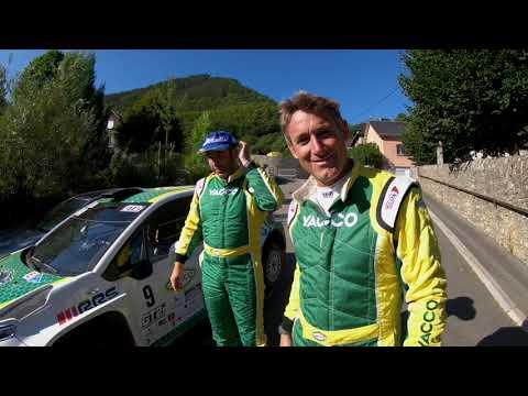 Rallye Terre de Lozère Sud de France 2021, avec Yacco