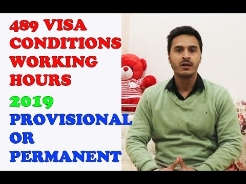489 VISA CONDITIONS || WORKING RIGHTS || TEMPORARY OR PERMANENT