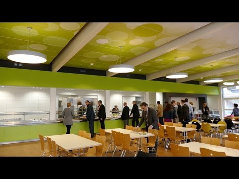 hanz-online: Inbetriebnahme Mensa Crucenia Realschule plus Bad Kreuznach