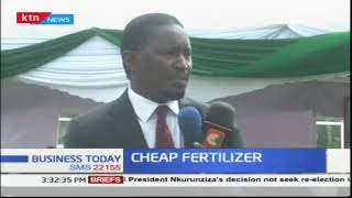 CS Mwangi Kiunjuru pledges cheap fertilizer to tea farmers