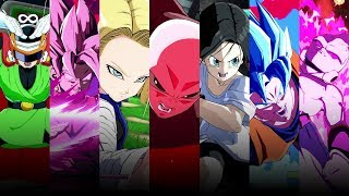 Dragon Ball FighterZ - All Super and Ultimate Attacks (Season 2 Update)