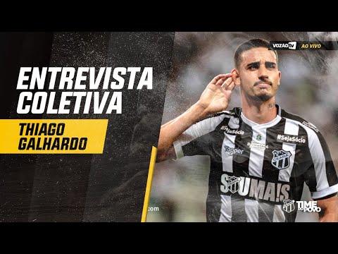 COLETIVA Coletiva Thiago Galhardo  31072019  Vozão TV