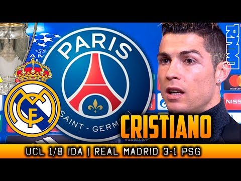 CRISTIANO RONALDO post Real Madrid 3-1 PSG | Champions League (14/02/2018)