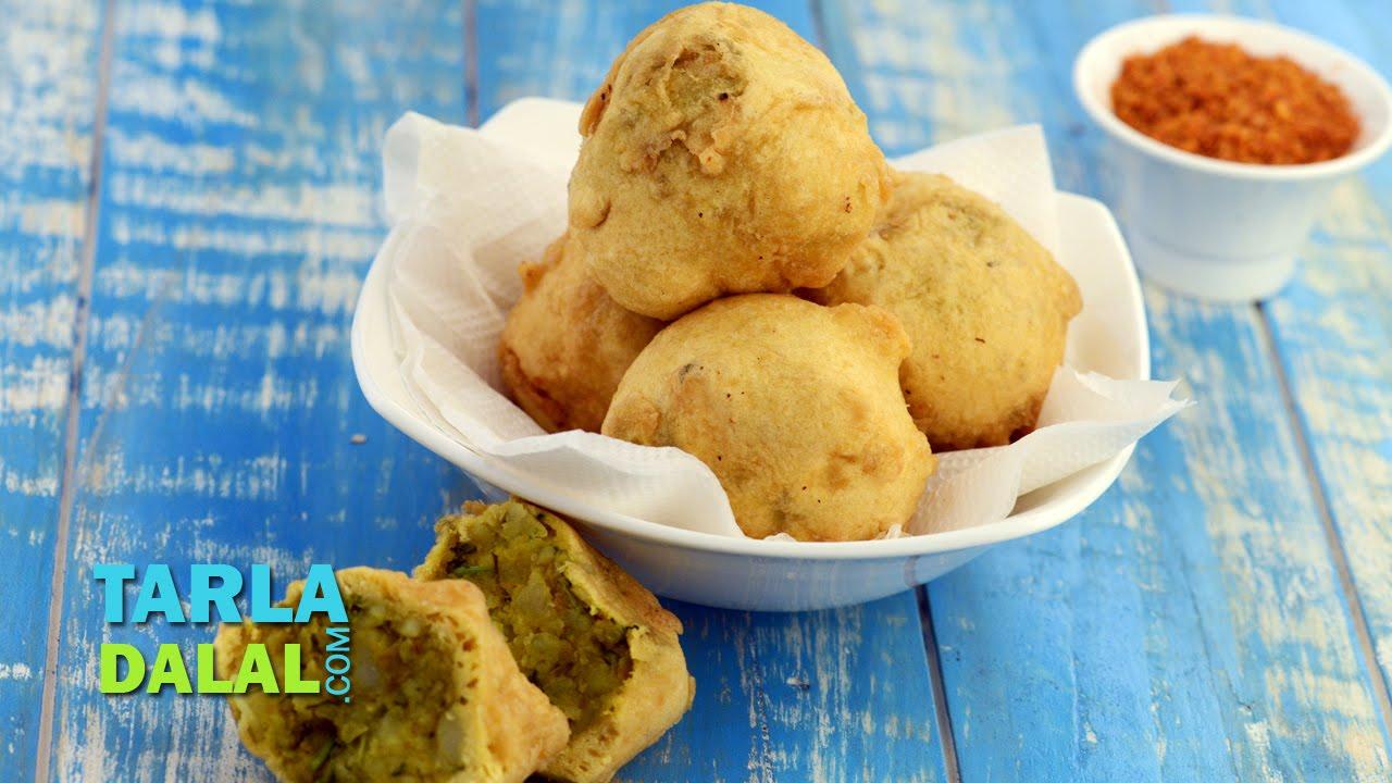 Batata Vada Aloo Recipe By Tarla Dalal