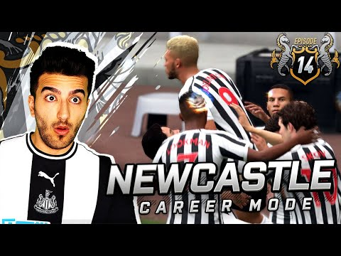 DANGEROUS FAN OBJECTIVES CHASE TURNS NEAR IMPOSSIBLE - FIFA 19 NEWCASTLE UNITED CAREER MODE 14