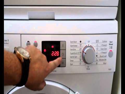 My Bosch Logixx washer review