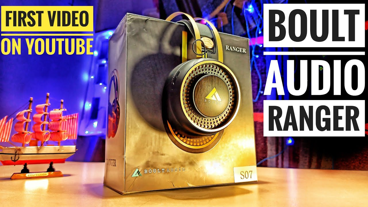 Boult Audio Ranger/Biggest Headphone Ever/ Best Headphone🎧🤭 Under 1500
