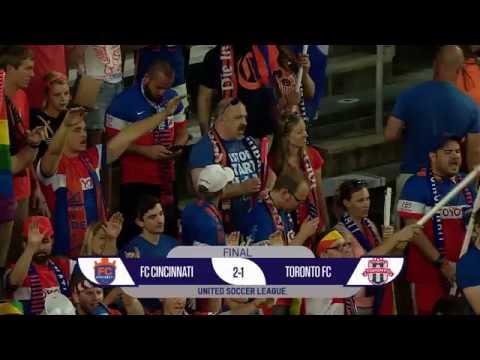 FULL TIME VIDEO RECAP: FC CINCINNATI 2, TORONTO FC II 1
