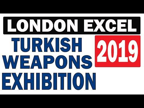London Excel 2019, Turkish Weapons, Londra 2019, Türk Silahları Sergisi, Turkish Defence industry
