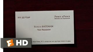 American Psycho: Business Cards thumbnail
