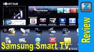 Repeat youtube video Samsung Smart TV Review UE40D5520 LED HDTV