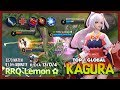 Legend of Kagura  3k Match with 91 5  Win Rate is Real  RRQ Lemon     King of Kagura   MLBB