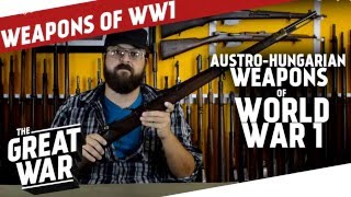Austro-Hungarian Weapons of WW1 I THE GREAT WAR live feat. C&Rsenal