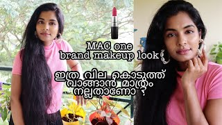 Natural glowly makeup look|How I straighten my hair|MAC one brand makeup look|MAC is it worth?|Asvi