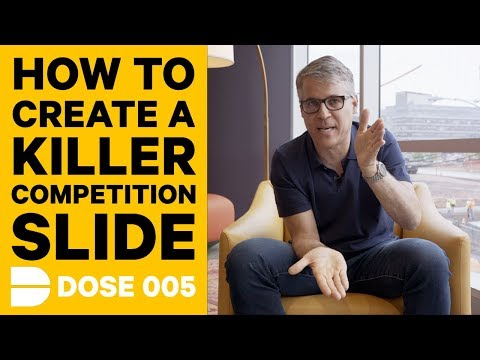 How To Create A Killer Competition Slide For Investors | Dreamit Dose 005