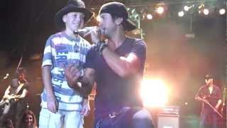 luke bryan childhood