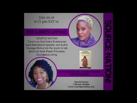 Kathy B and Author Courage Molina-Power Principles: Courageous Living