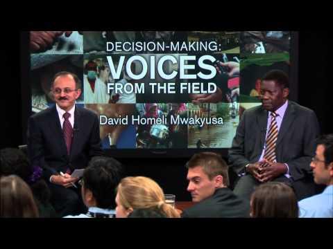 David Homeli Mwakyusa, Parliament Member and Former Minister for Health and Social Welfare, Tanzania