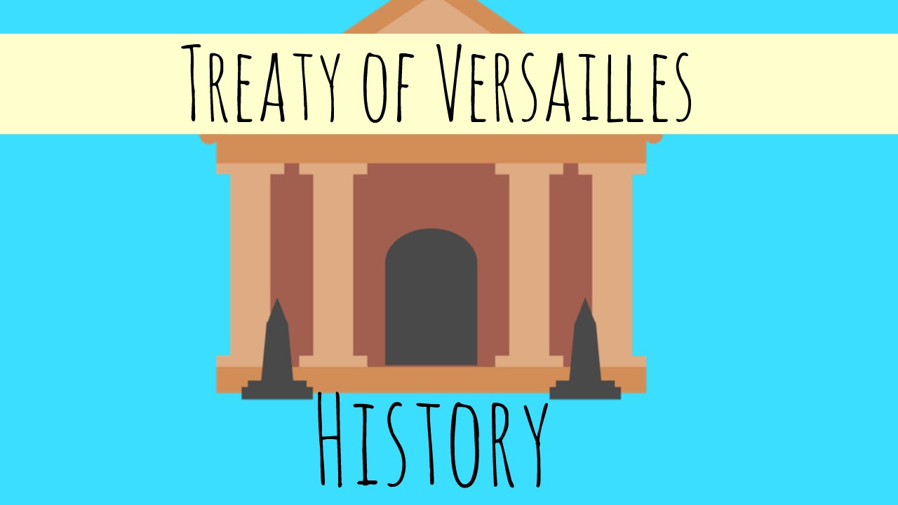 Treaty of Versailles - The Main Cause of World War 2 - GCSE ...