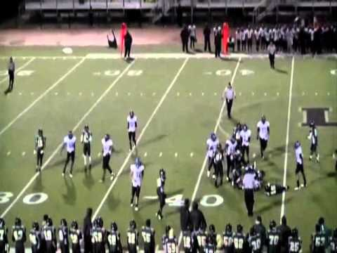 Justin Brown Langston Hughes high school football