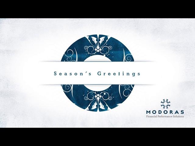Season's Greetings from Modoras
