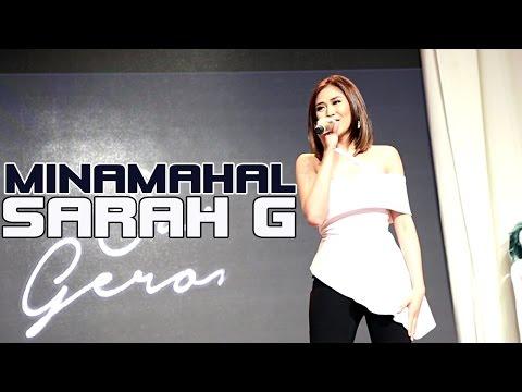 Sarah Geronimo — Minamahal | Album Tour