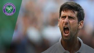 Kyle Edmund vs Novak Djokovic 3R Highlights | Wimbledon 2018