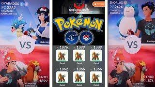 ¡PROBANDO NUEVO POKÉMON LEGENDARIO! TEAM ENTEI x6 vs GIMNASIO en Pokémon GO [Keibron]
