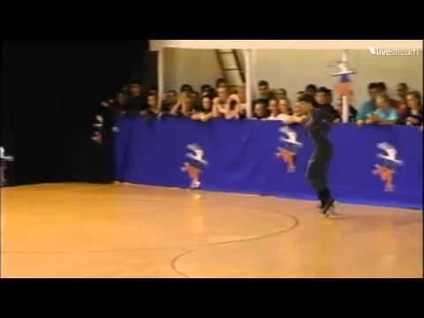 Davide Trevisani - Short Programme - European Championships Jeunesse - 2014