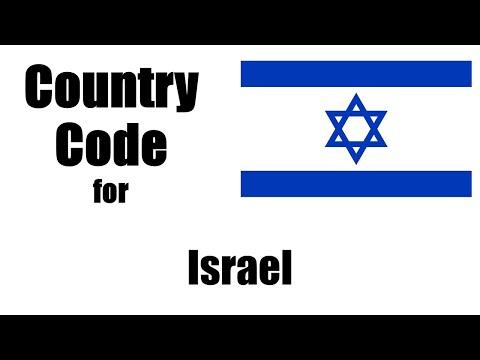 Israel Dialing Code - Israeli Country Code - Telephone Area Codes in Israel