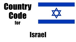 Israel Dialing Code - Israeli Country Code - Telephone Area Codes in Israel