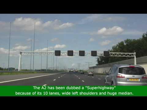 "A2 Utrecht - Amsterdam ""superhighway"""