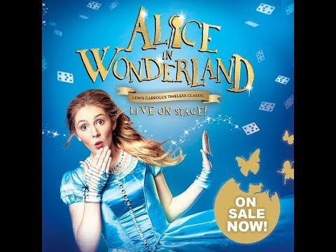 Alice in Wonderland. Paper Piecing for Christmas.