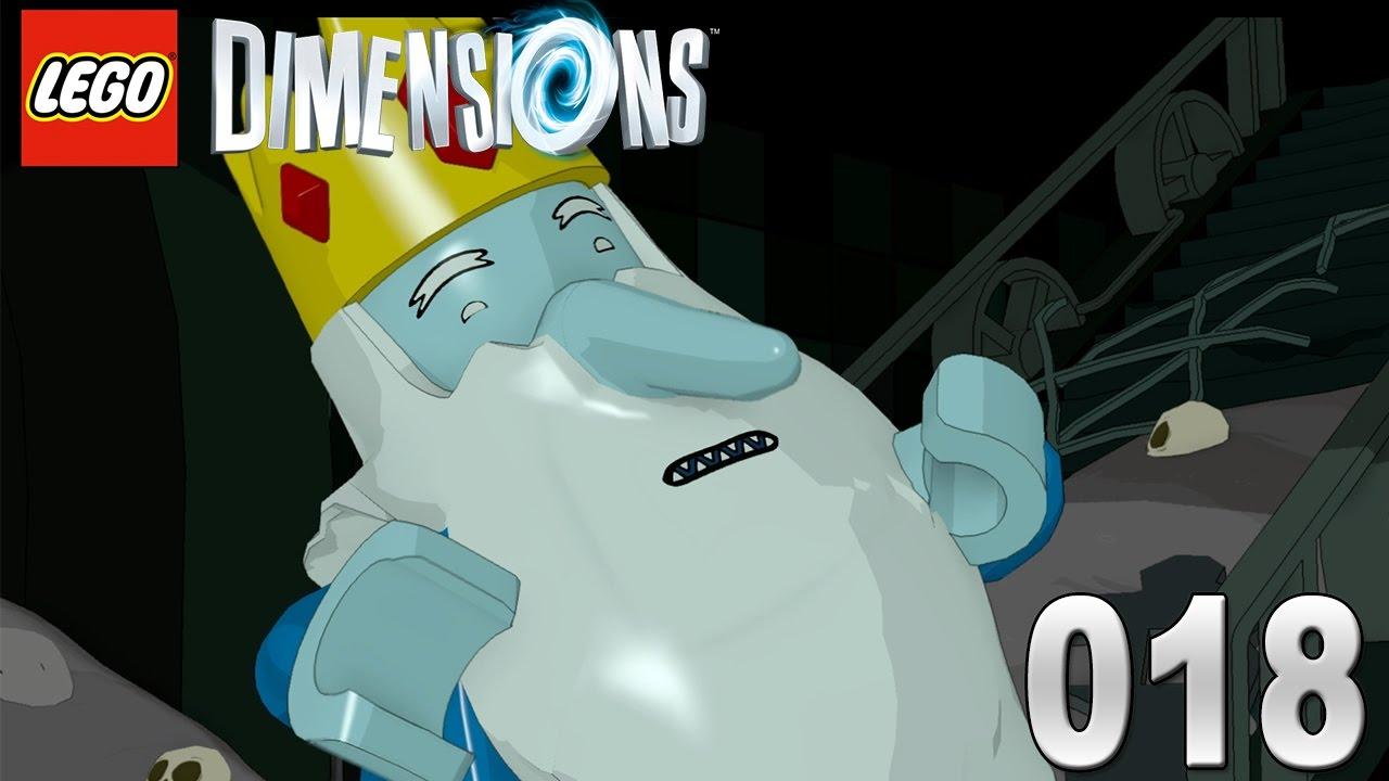Ganz und zu Extrem Lego Dimensions #018 - Adventure Time Der Eiskönig   Let´s Play @FW_08