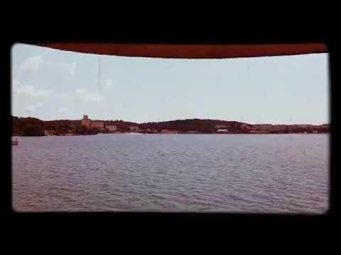Seaplane lifting off from the harbor of Pula, Croatia