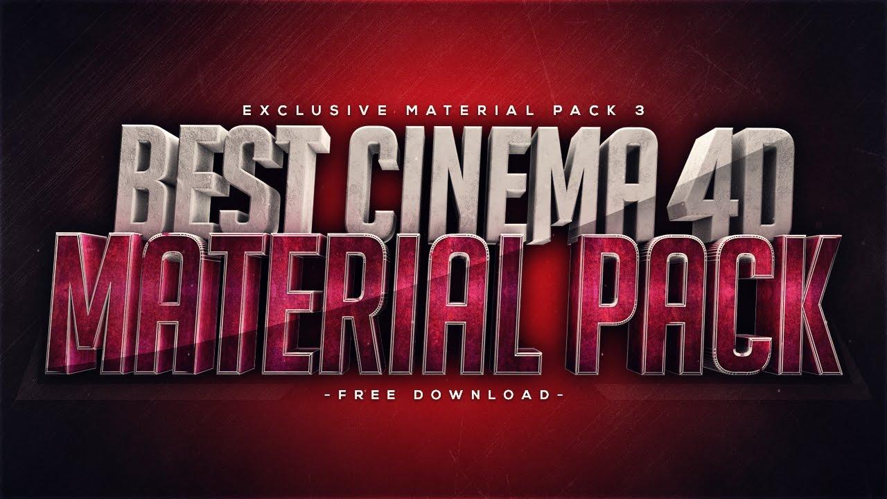 Best Cinema 4D Material Pack - Free Download - FezoDesigns