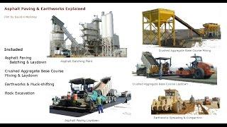 Asphalt Paving & Earthworks Explained