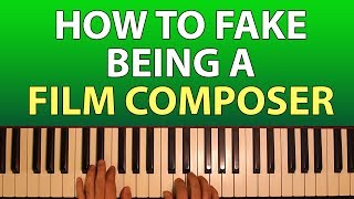 How to be (fake being) a film composer
