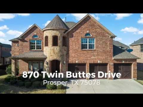 Highlights: 870 Twin Buttes Drive, Prosper TX 75078
