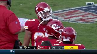 Travis Kelce Ejected for Throwing His Towel at the Ref! | Jaguars vs. Chiefs | NFL