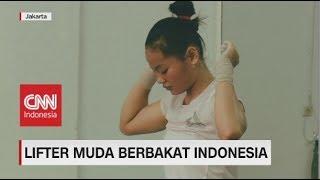 Windy, Lifter Berusia Muda Indonesia Pecahkan Rekor Dunia Remaja Angkat Besi