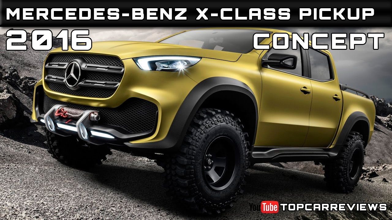 2016 Mercedes Benz X Cl Pickup Concept Review Rendered Price Specs Release Date