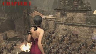 Resident Evil 4 - Separate Ways (Welcome To Hell) Mode - Chapter 1 (New Game) HQ